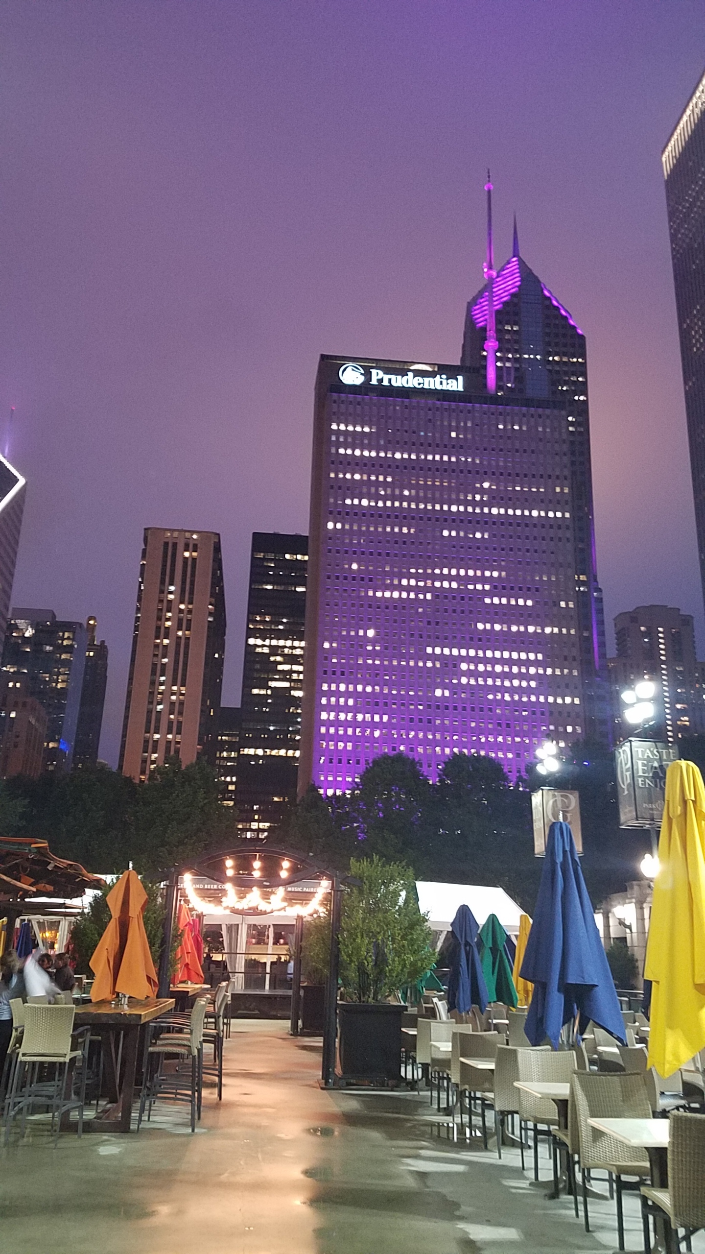 The Plaza at Millennium Park (Outdoor Beer Garden)