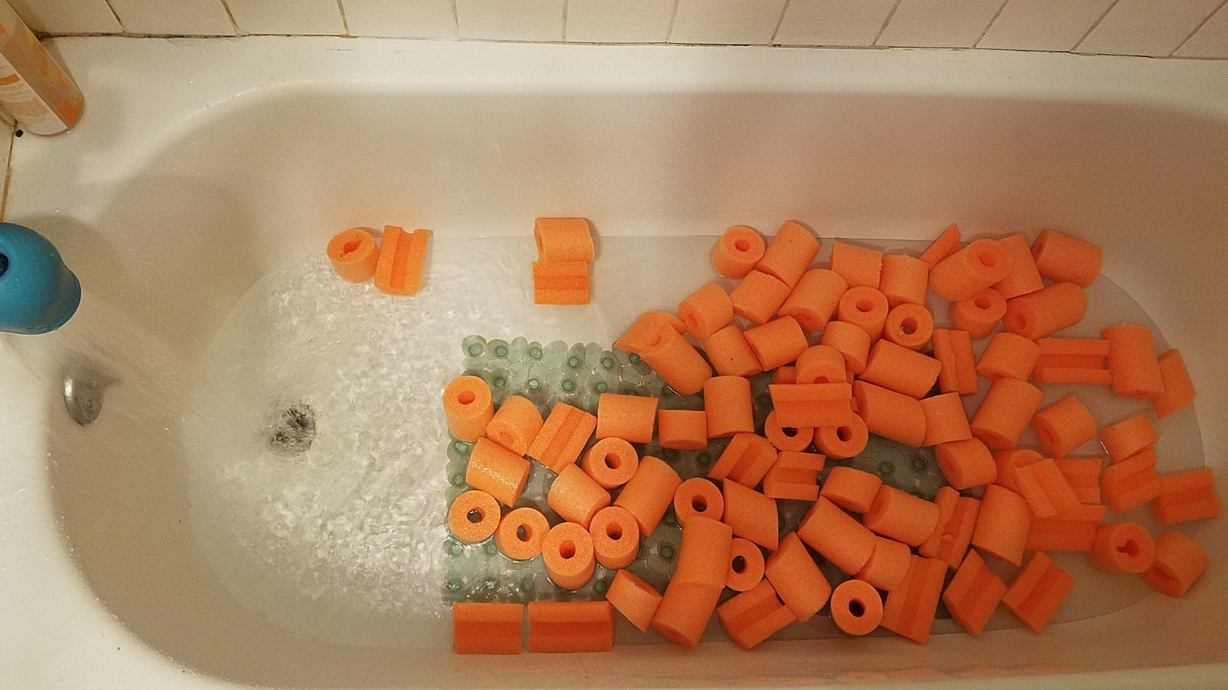 """7. Bath Tub """"Ball Pit"""""""