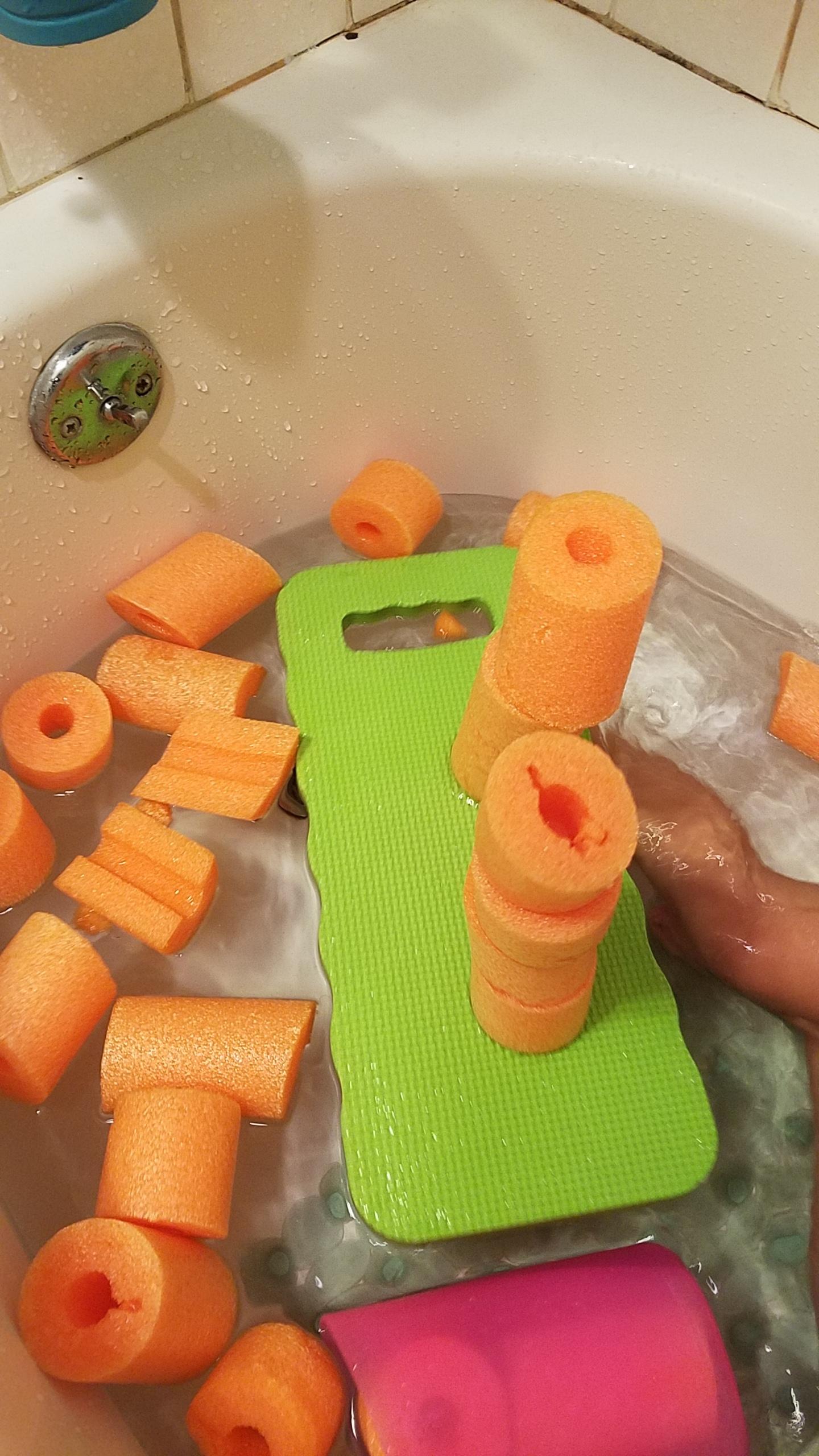 8. STEM Bath Tub Stackers