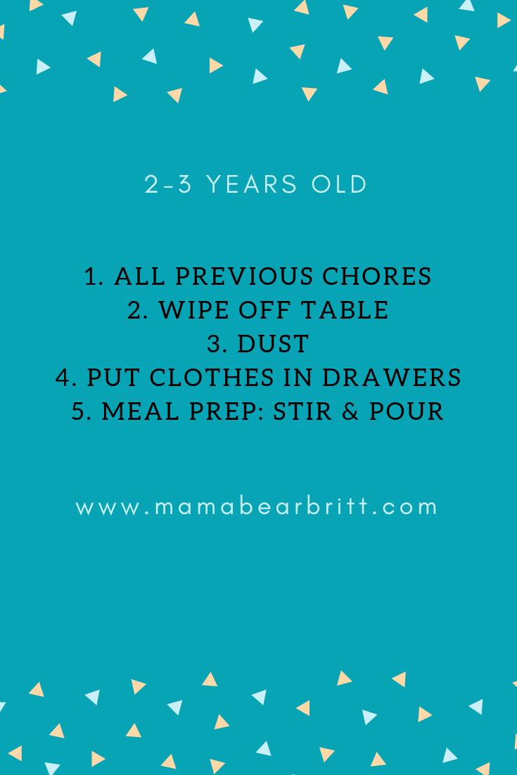 kid chores