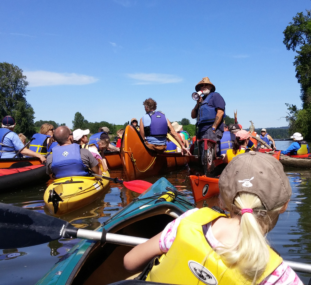 Big Paddle - Ridgefield, WA — June 1, 2019Spend a fun-filled day with your family on Lake River where you'll paddle right through Ridgefield Refuge on a guided tour. Downtown Ridgefield will also be abuzz with tons of family-friendly activities including an obstacle course, scavenger hunt, farmers market, live music, and BIG games.Click here for full details.