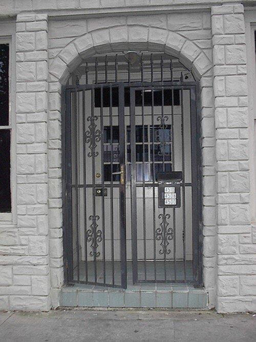 Door at Nothing Studios, circa late '90s.