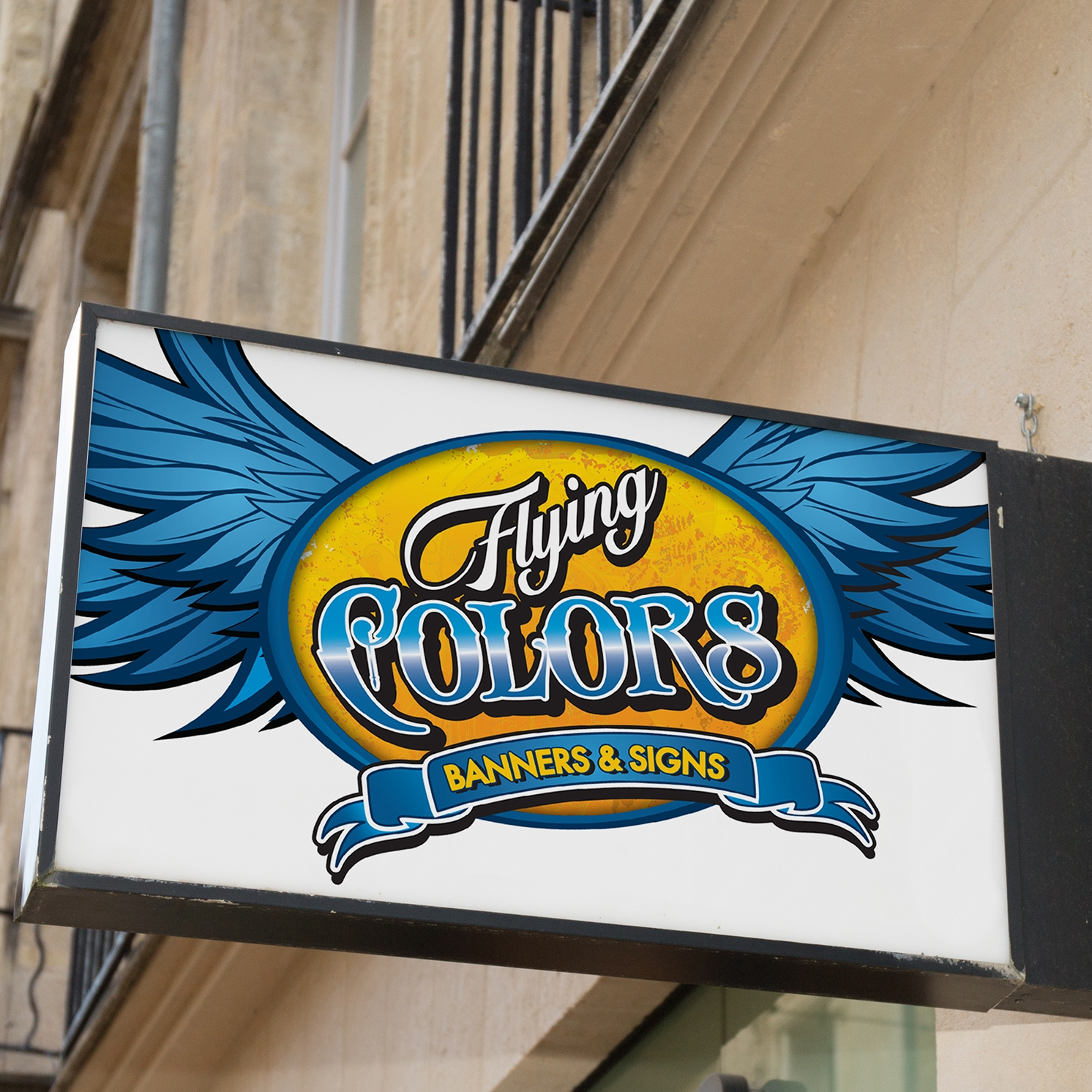 Flying Colors Banners & Signs