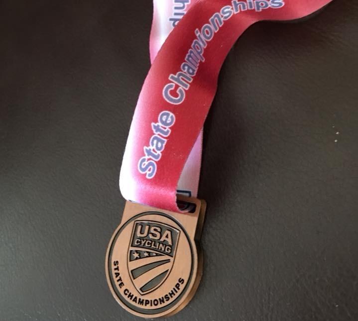 Bronze Medal, Virginia Cyclocross Championships 2017