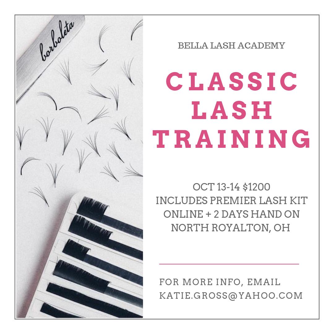 Classic Lash Training — Suburban Lash & Beauty