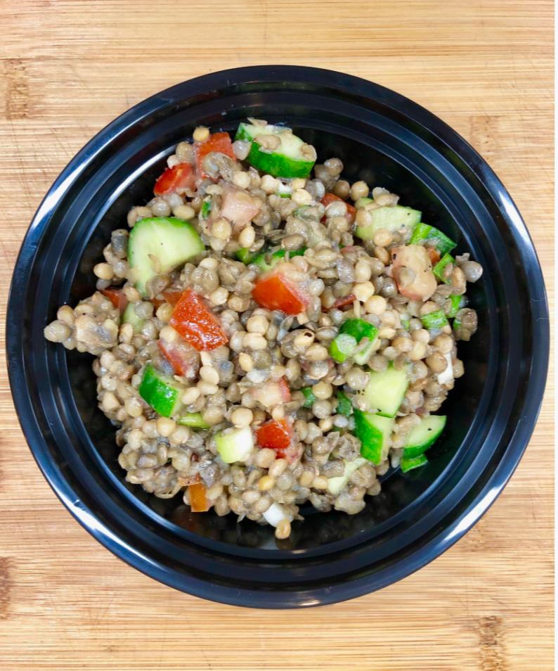 Lentil Salad with Arugula