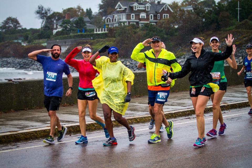 Dallas Rogue runners running the Portland Marathon