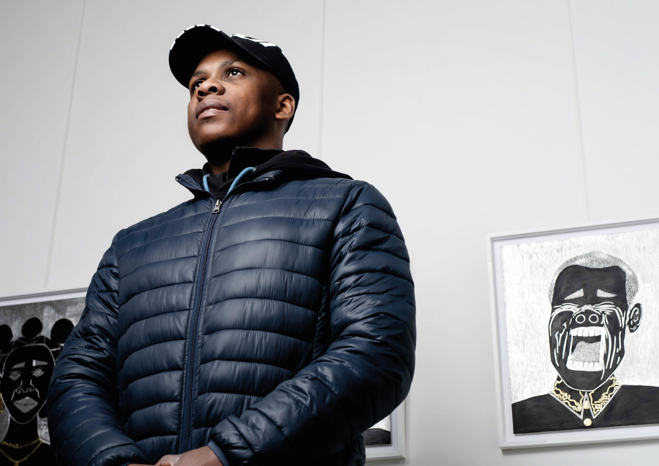 O'Maurice Mboa Künstlerportrait - Interview