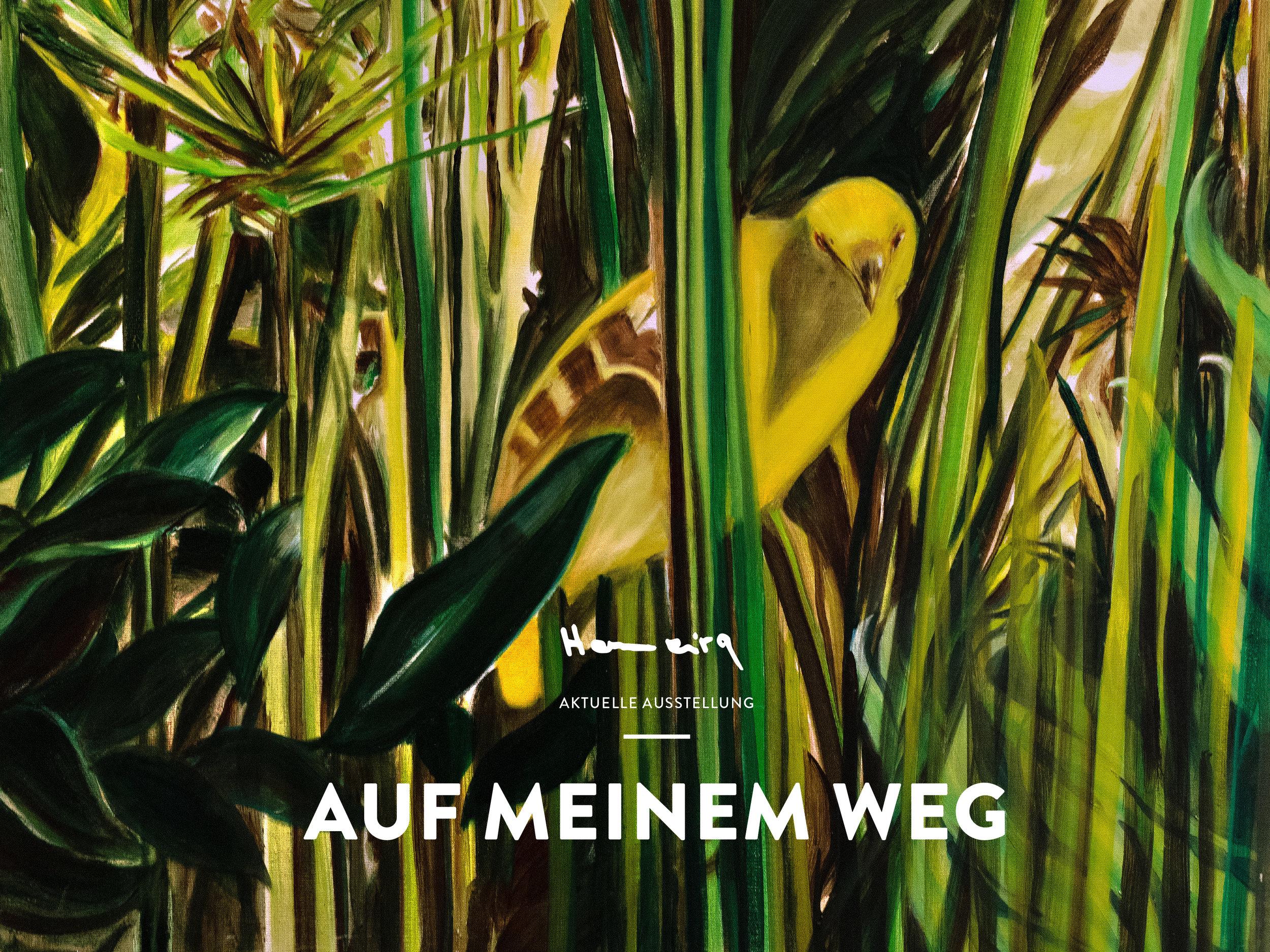 """Aktuelle Ausstellung, """"AUF MEINEM WEG"""""""