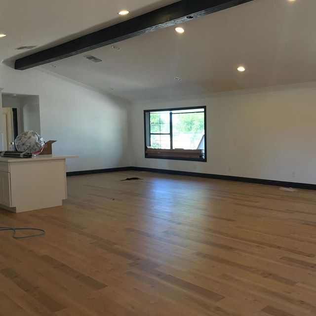 Large loft, wood floors