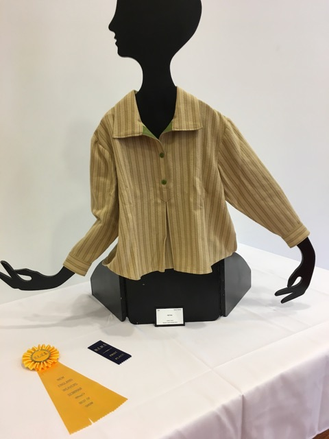 Manon Pelletier's Blouse won First Prize and Best in Show for Fashion at NEWS