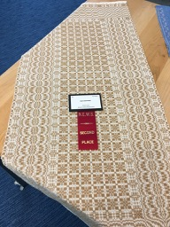 Lisa Geigen's Table Runner Won Second Prize for Gallery at NEWS