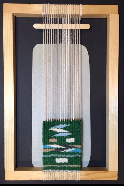 Intro to Tapestry Weaving   Janet Austin   Saturday, March 30, 10 AM - 4 PM  Tapestry is an ancient form of weaving that creates images from yarn. Students will assemble a wooden frame loom, learn to put a warp on it and to weave, using traditional tapestry technique. In addition to technique, we will discuss designing for tapestry, finishing and framing. At the end of class, students will get to take their looms home, with enough yarn to complete the project.   FOR MORE INFO: http://wickfordart.org/current-classes/