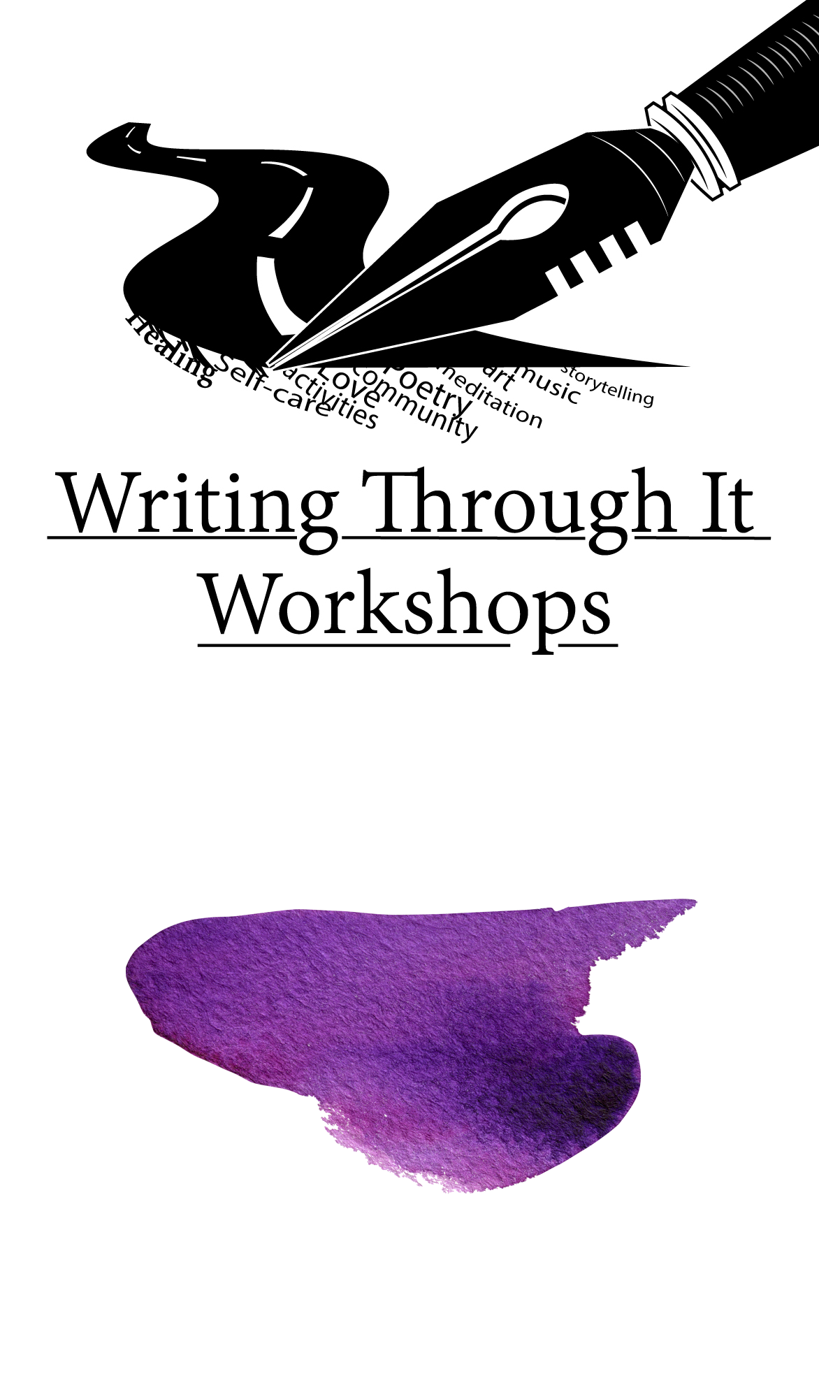 """Writing Through It Workshops - """"Writing Through It Workshops"""", the brainchild of Cherlnell Lane, are workshops based on """"Getting Through"""" a variety of topics by using Journaling and other writing techniques. Past topics include: sexual abuse, pain experienced from Lupus or Fibromyalgia and the everyday trauma of being Black in America but the possibilities are endless. Each WTI Workshop is handcrafted to fit the topic and in addition to writing may include: games, meditations, conversations, artwork, etc. Cherlnell teaches how to use words as a cleansing agent, a healing balm, the medicine of laughter or a call to arms. WTI Workshops is an intimate setting where students will learn, experience, and share with each other.If you are interested in having Cherlnell teach a workshop for your organization please fill out the form below."""