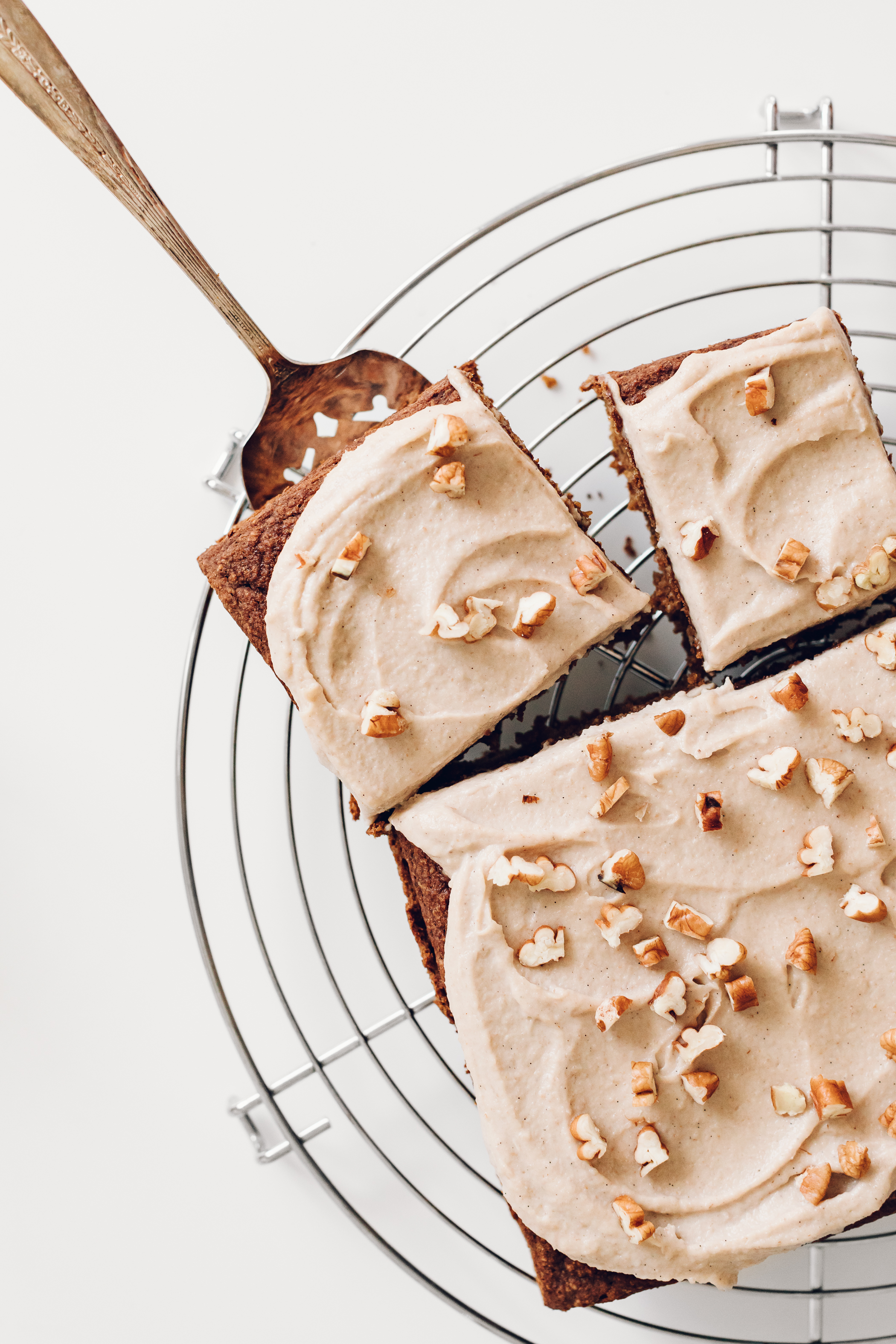 Pumpkin Cake with Maple Pecan Buttercream by Jessie May