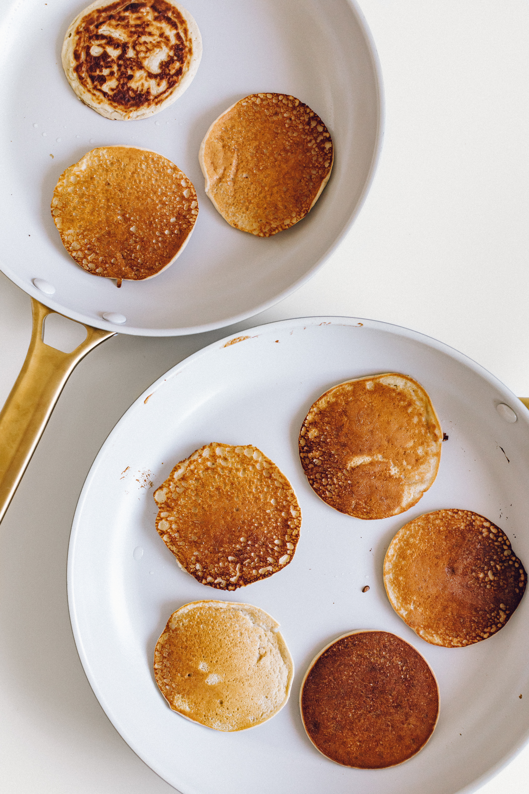 Blender Banana Pancakes by Jessie May