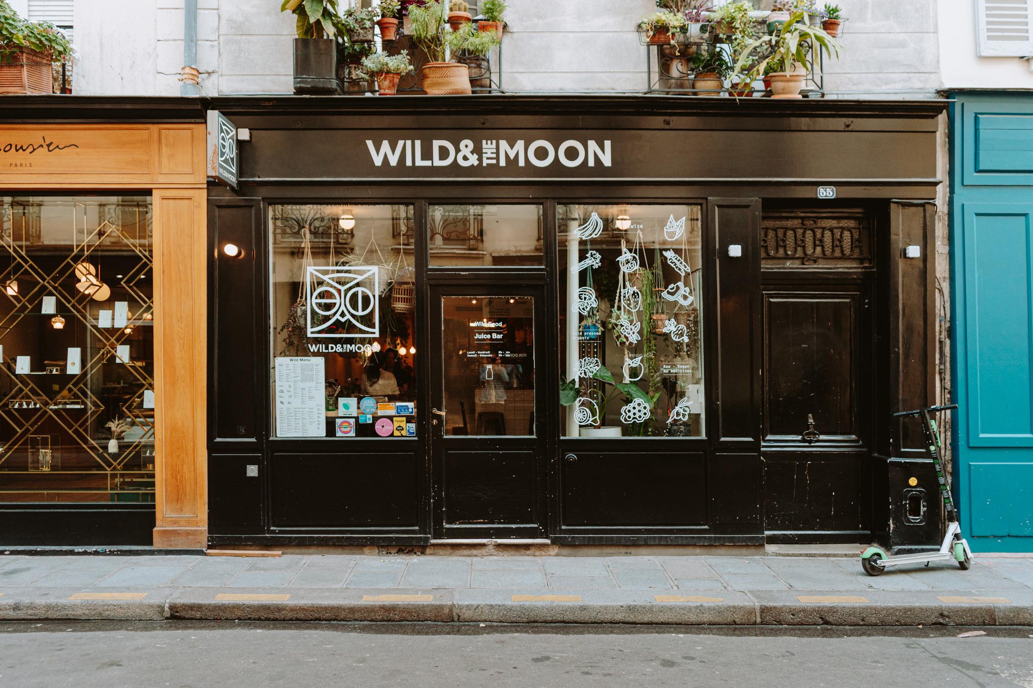 Healthy, hippie bites at  Wild & The Moon .