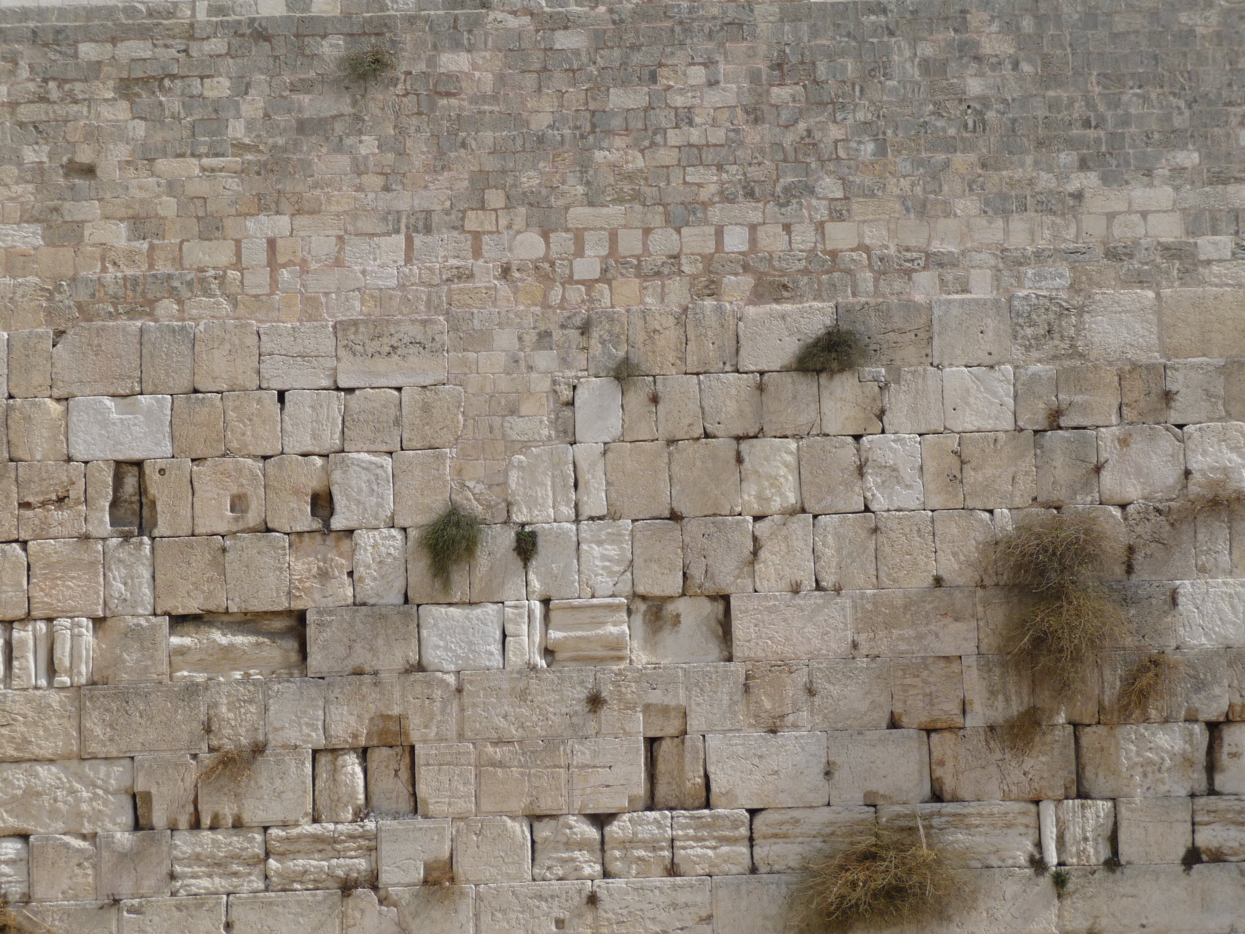 Close up of western wall.JPG