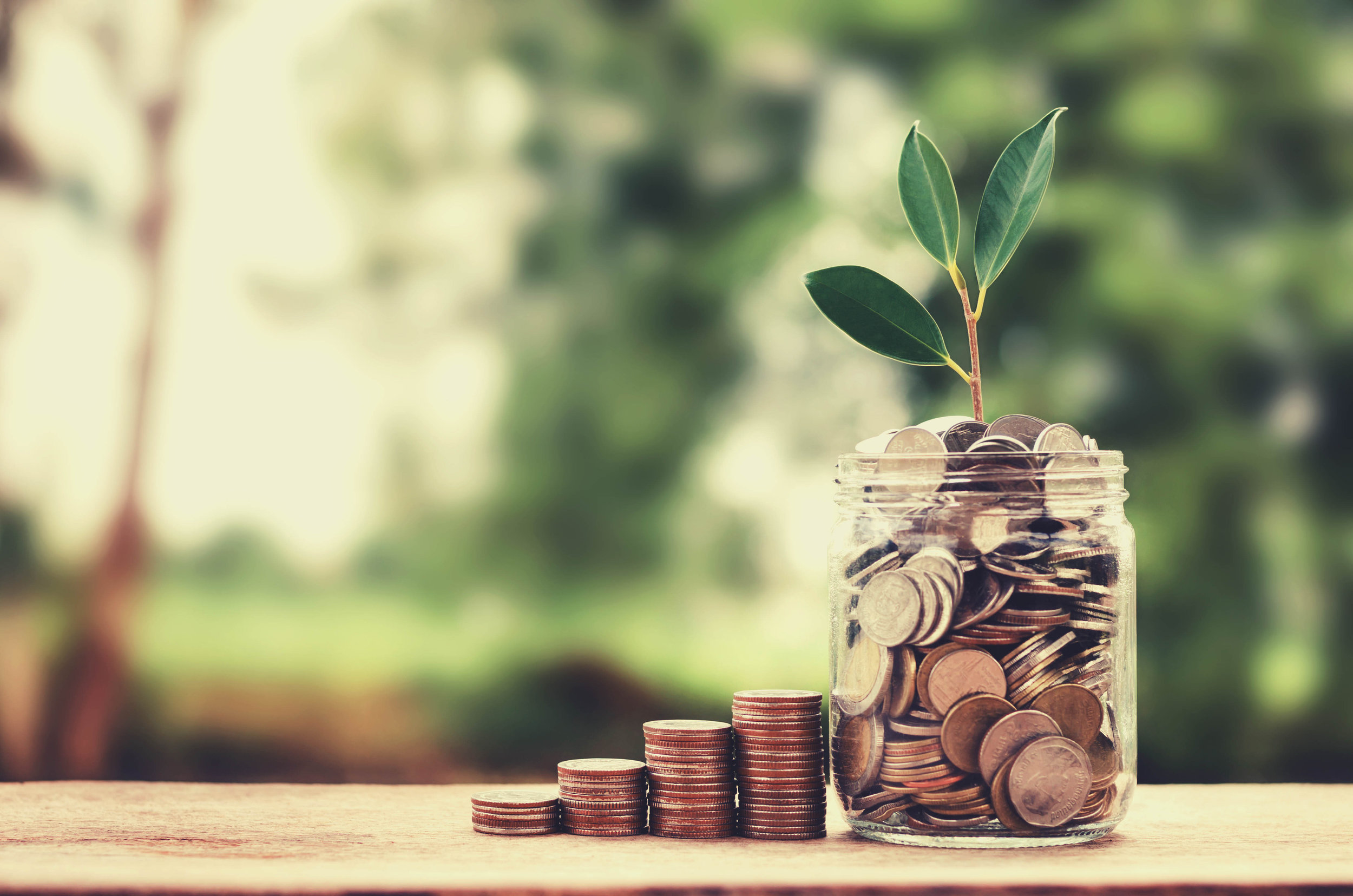 SMART CENTS - Add to your savings-a few cents at a time! That spare change really adds up...