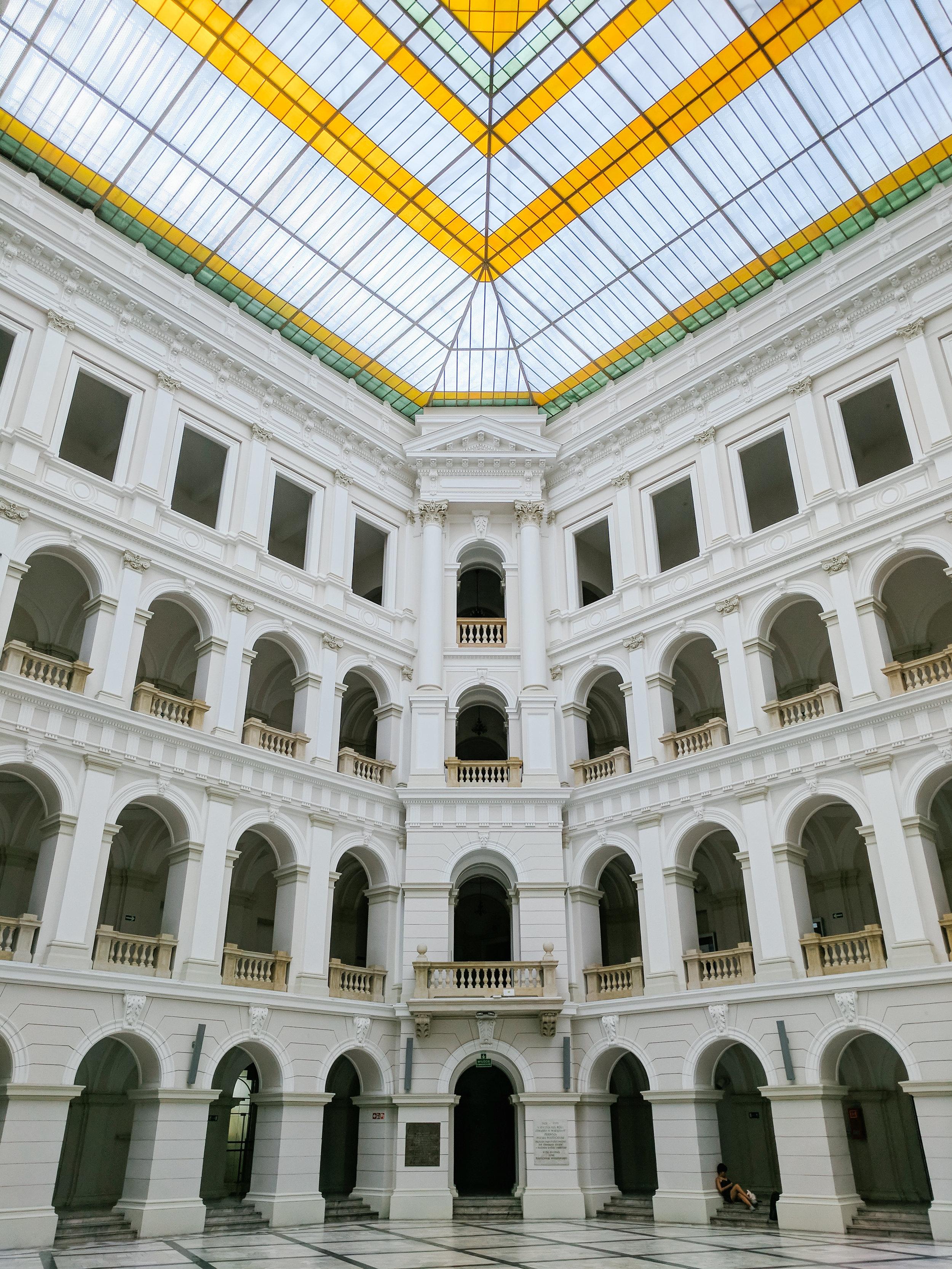 Warsaw University of Technology, Main Hall