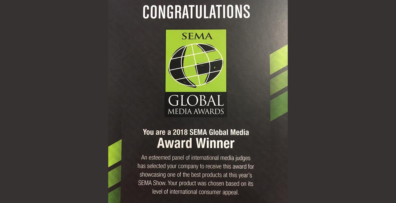GUNIWHEEL™ 2018 Global Media Award