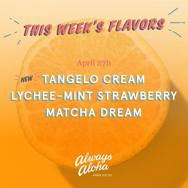 🆕 Tangelo Cream: Over vanilla Ice cream topped with strawberries & snow cap 🍊🍨 Lychee-Mint Strawberry: Topped with strawberries, homemade mochi & snow cap 🍓🍡🌿 Matcha Dream: Over vanilla ice cream topped with homemade azuki beans, mochi & snow cap 🍨🍵🍡