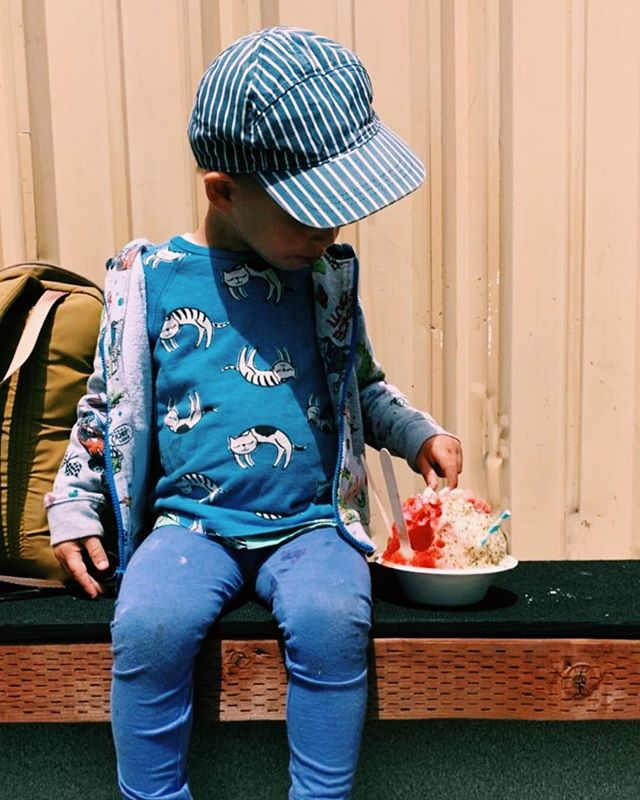 We are so thrilled to be sharing our shave ice with everyone in the Bay Area, especially the keiki! Just seeing you guys with a bowl of shave ice in your hands makes me feel at home! 🌺♥️🤙🏽 📸: @natbr888