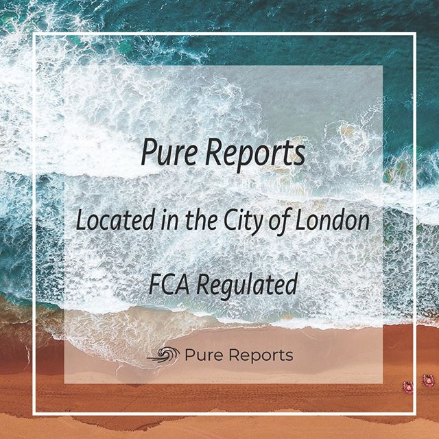 Pure Reports is pleased to announce it is now FCA regulated offering independent summary reports to the crypto community for both ICO's and STO's.  ____________________________ #eth #btc #crypto #bitcoin #cryptocurrencies #blockchain #instacrypto #instadaily #ripple #markets #finance #cryptocurrency #ethereum #xrp #tokensale #sto