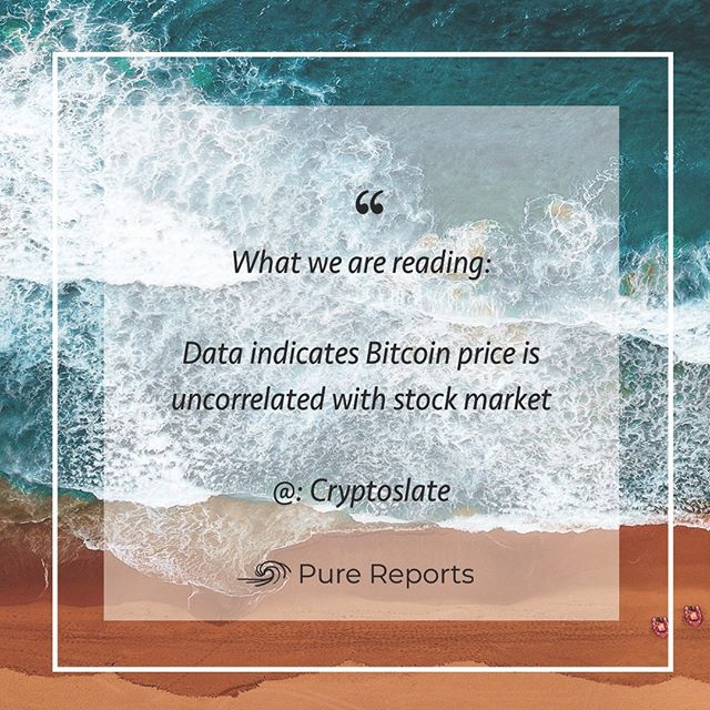 What Pure is reading today 😎 @cryptoslate (http://bit.ly/2CVMA2L)  ______________________________________________  #eth #btc #crypto #bitcoin #cryptocurrencies #blockchain #instacrypto #instadaily #ripple #markets #finance #cryptocurrency #ethereum #xrp #tokensale #sto