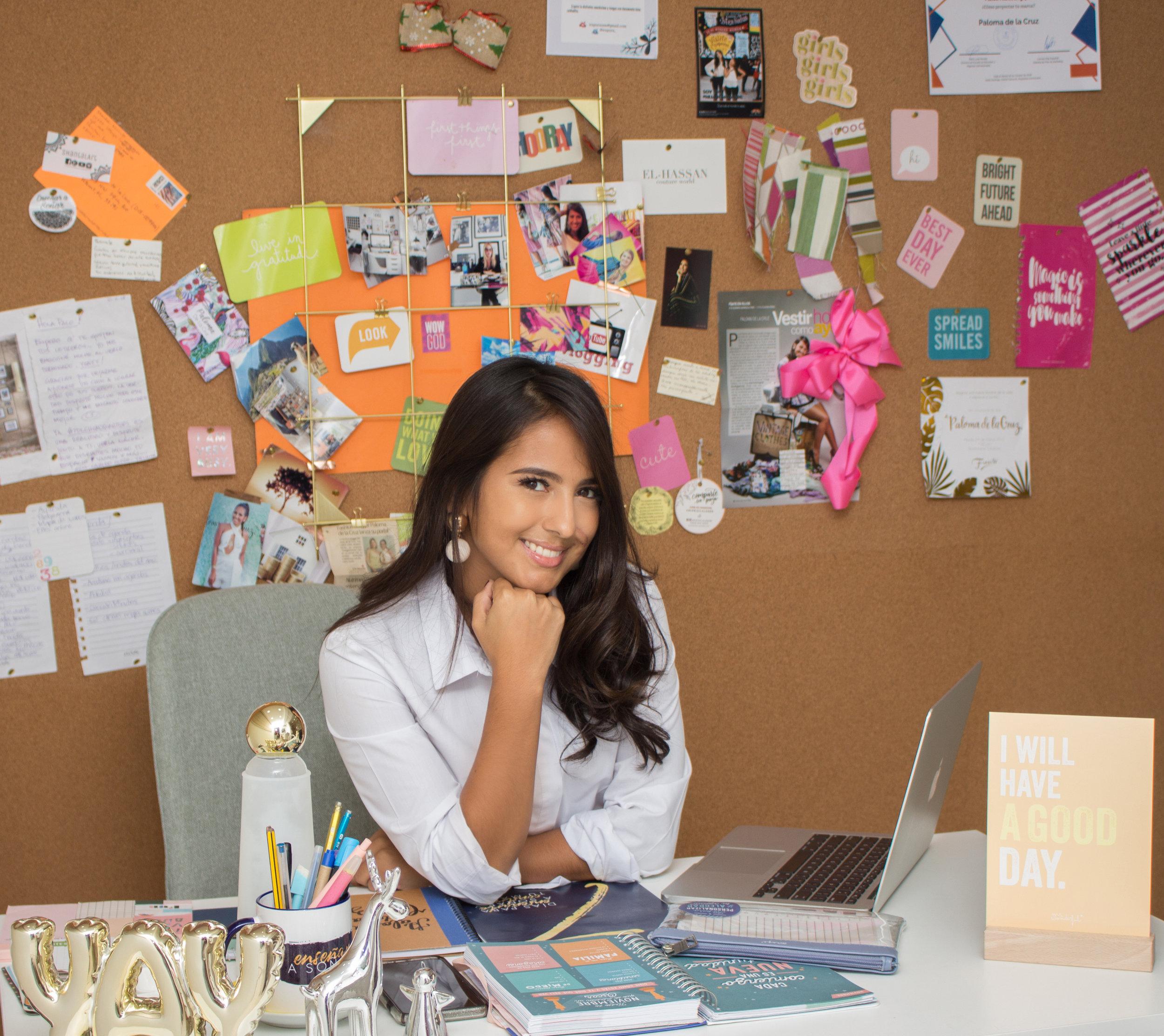 PDLC Headquarters oficina sueños metas paloma de la cruz fashion travel blogger enseñar a soñar