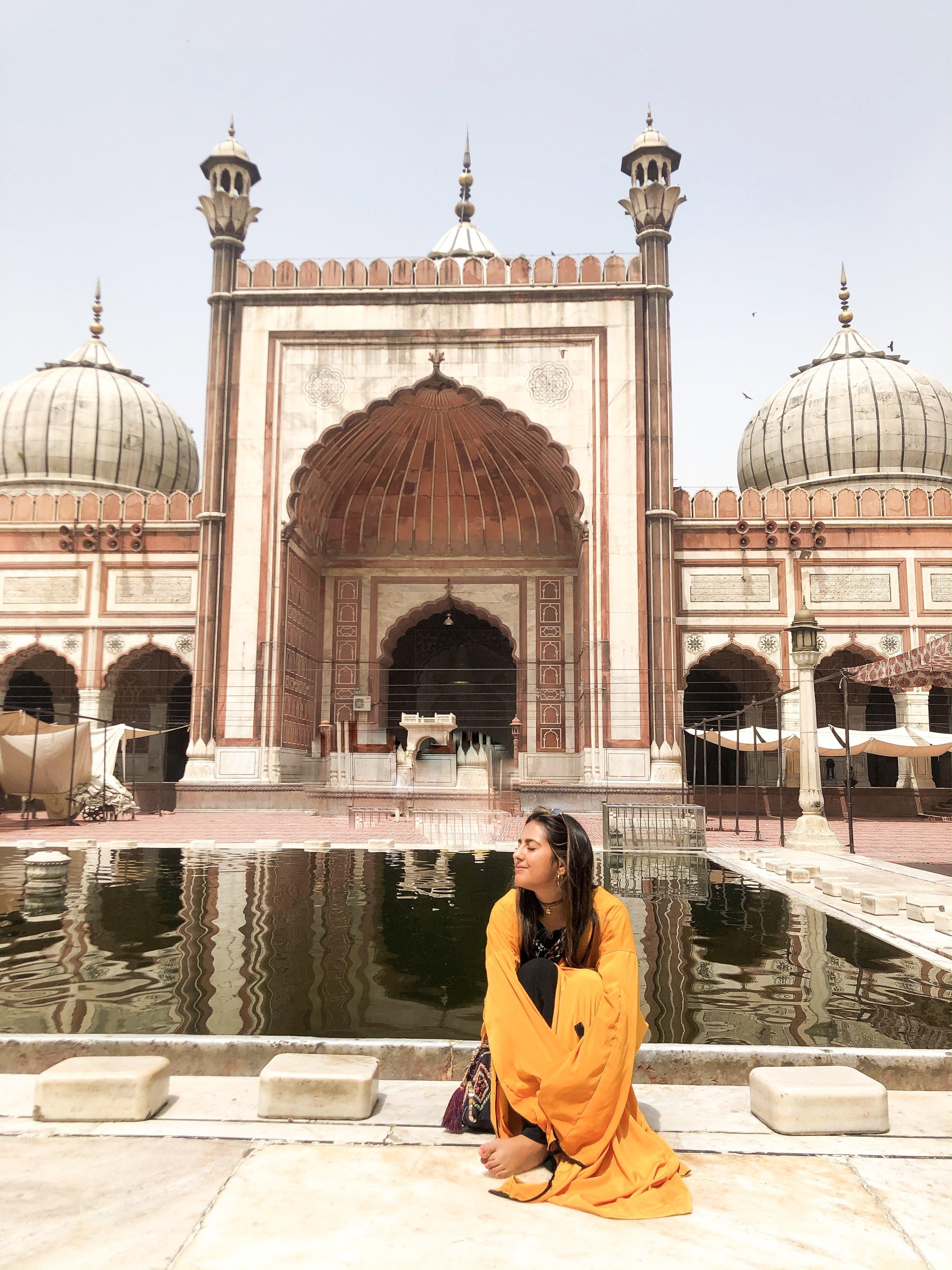 new delhi fashion travel blogger paloma de la cruz palomatravels india