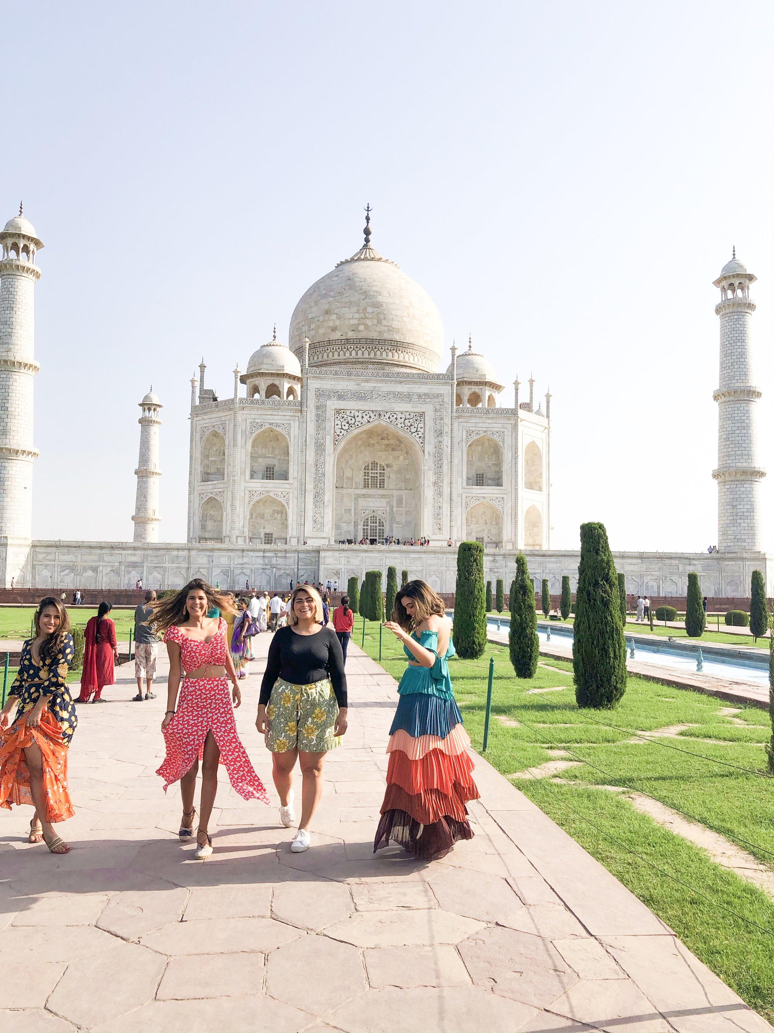 taj mahal maravilla del mundo fashion travel bloggers india