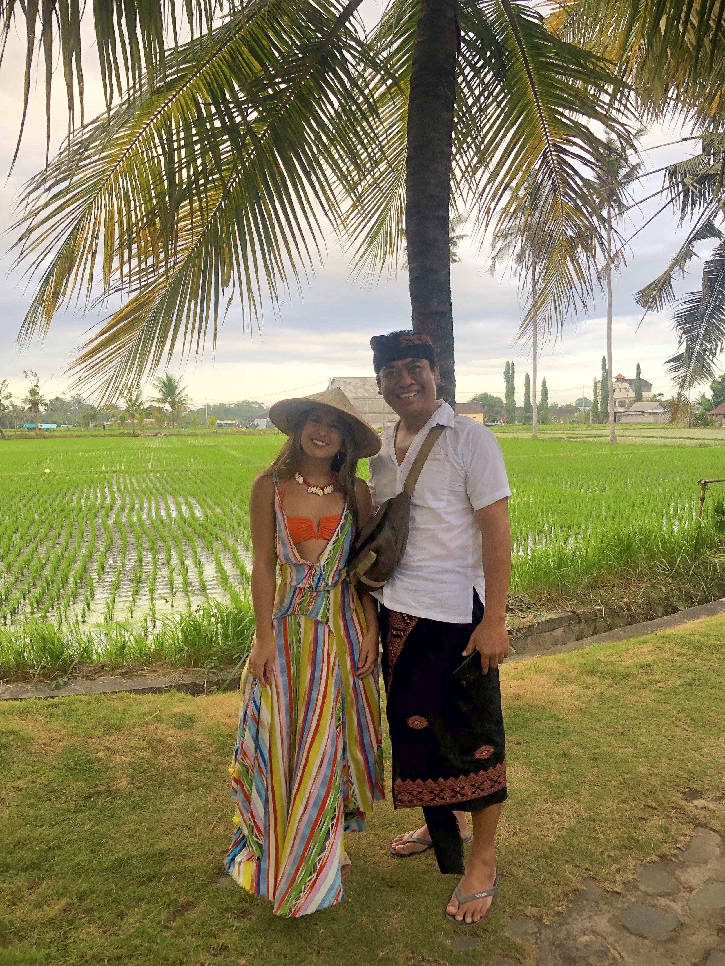 fashion travel blogger paloma de la cruz bali indonesia palomatravels coolness rice fields travel world