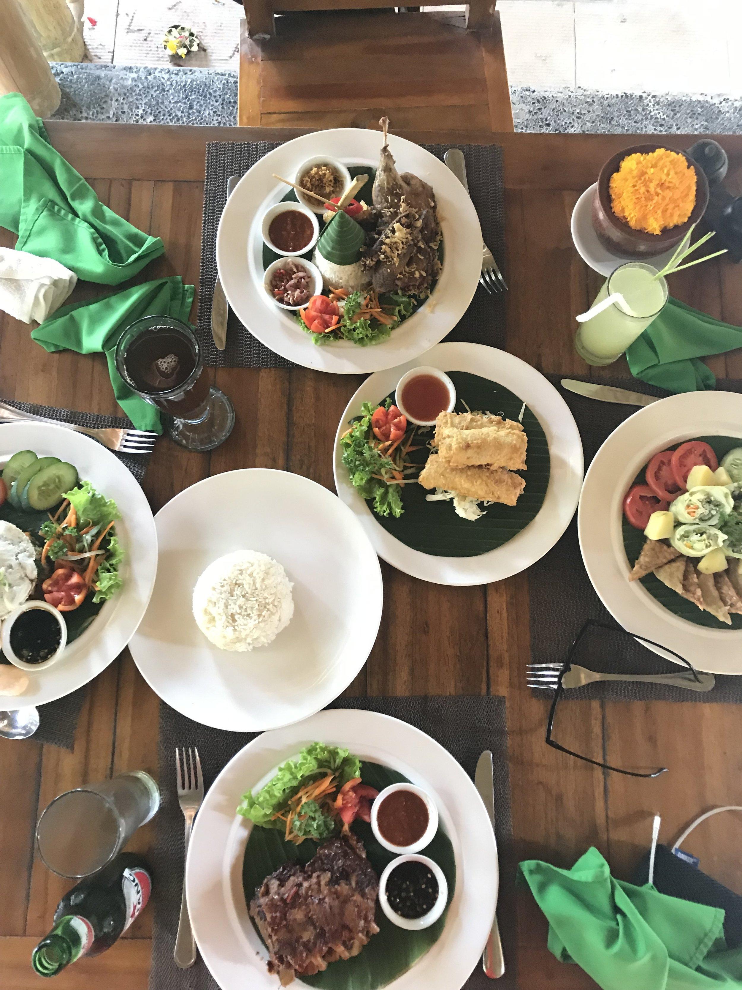 balinese food bali indonesia paloma de la cruz fashion travel blogger palomatravels