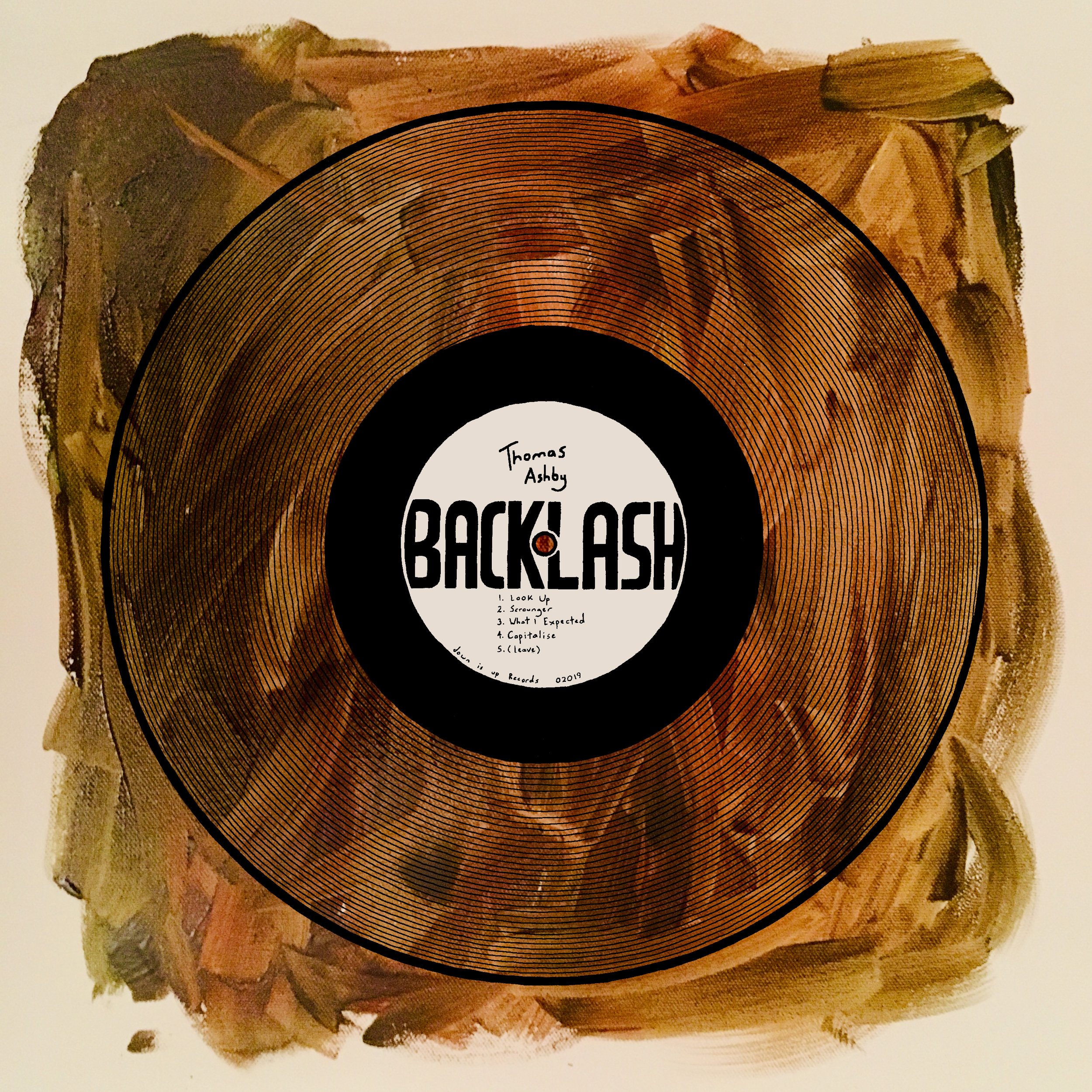 """BACKLASH EP - Released 31st May 2019Genre: Jazzy Folk & Blues.Featuring the singles, """"Look Up"""", """"Scrounger"""", and """"What I Expected""""."""