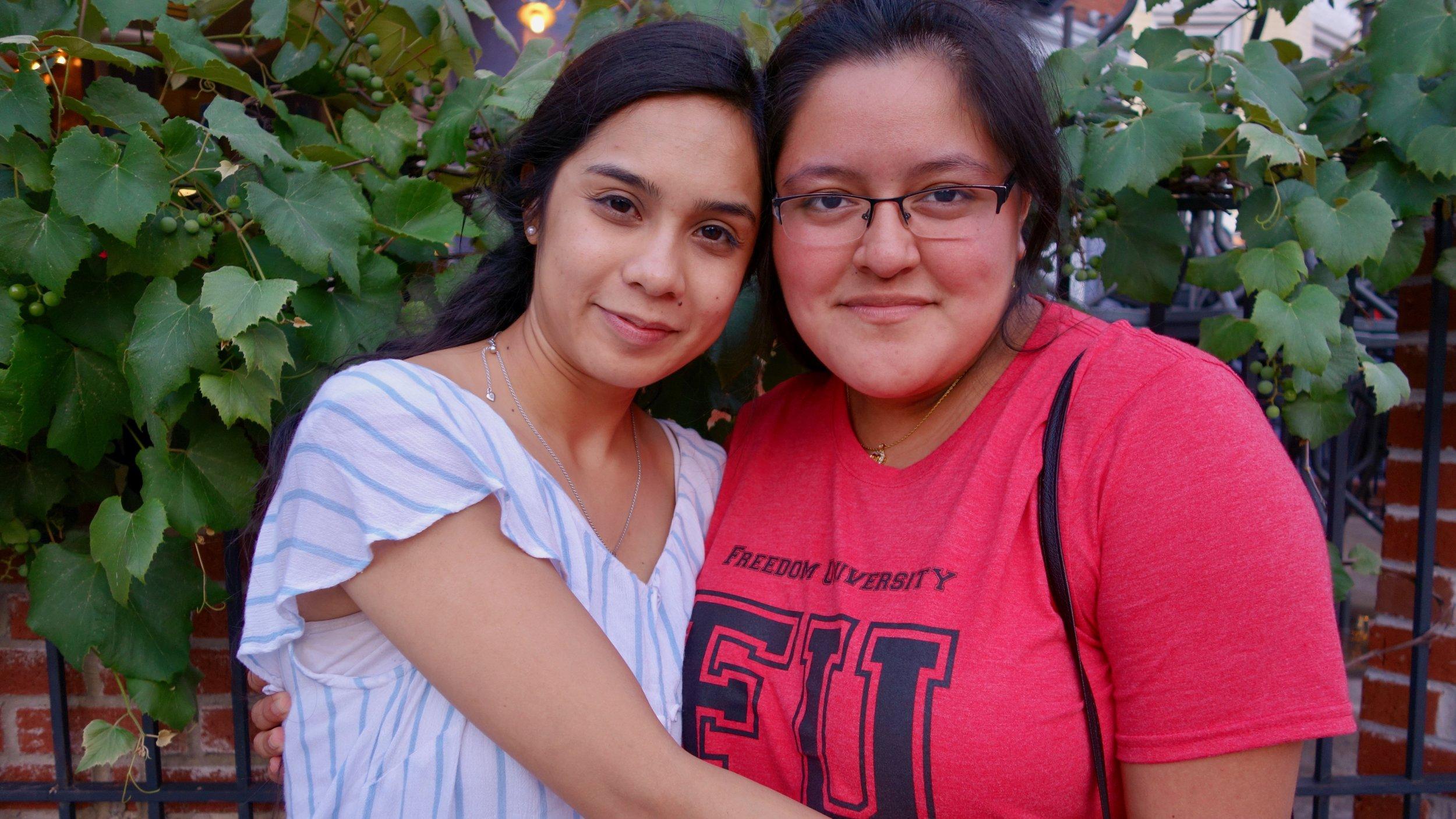 Irene and Cecilia