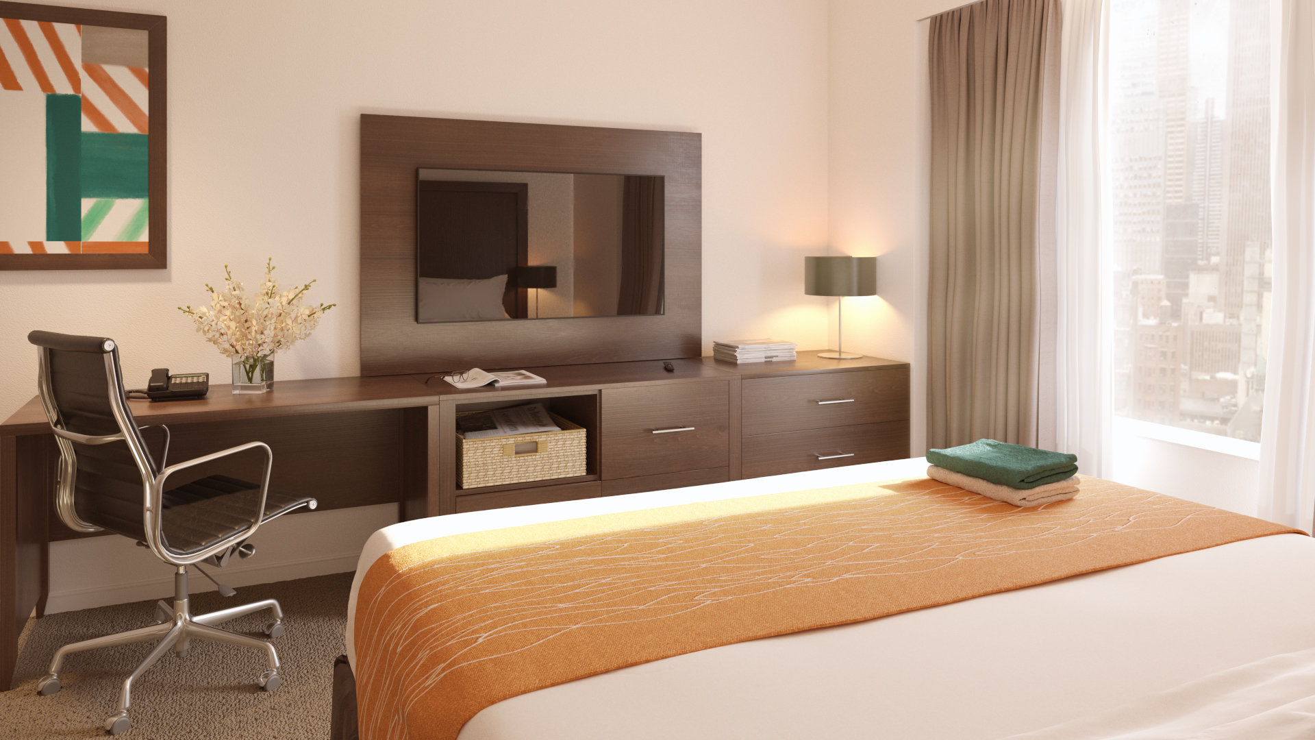 The Living Company, Hotel Concept