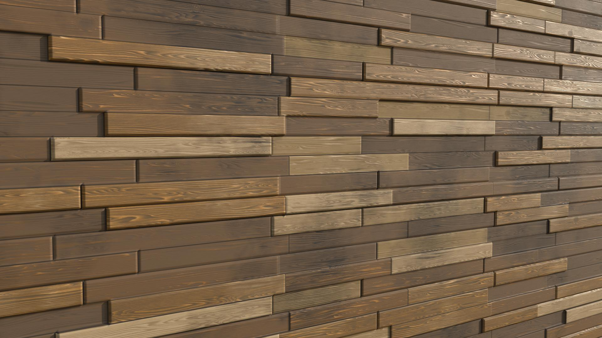 Wood Feature Wall
