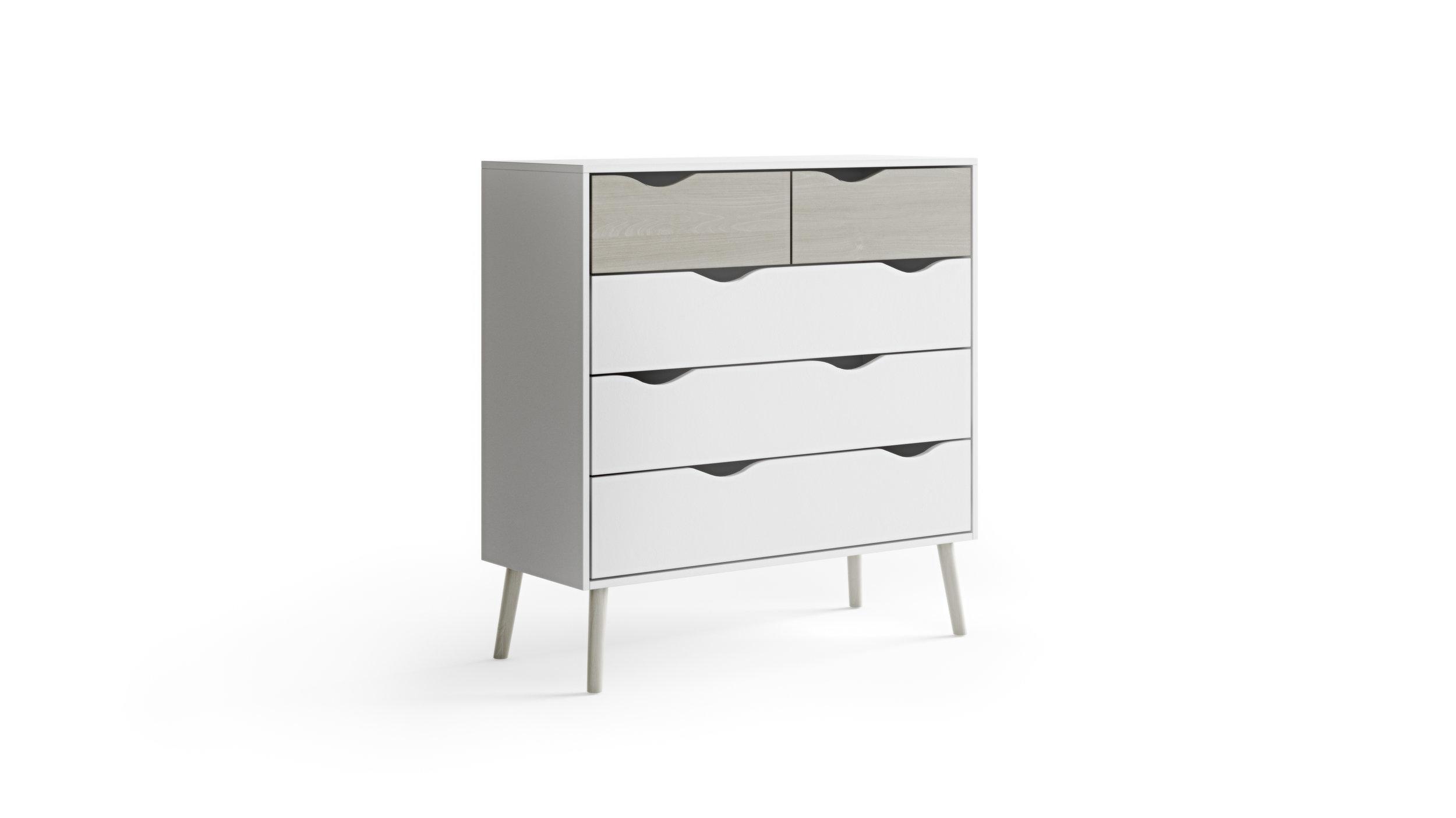 Furniture Model, Comfortable Elegance Style Dresser