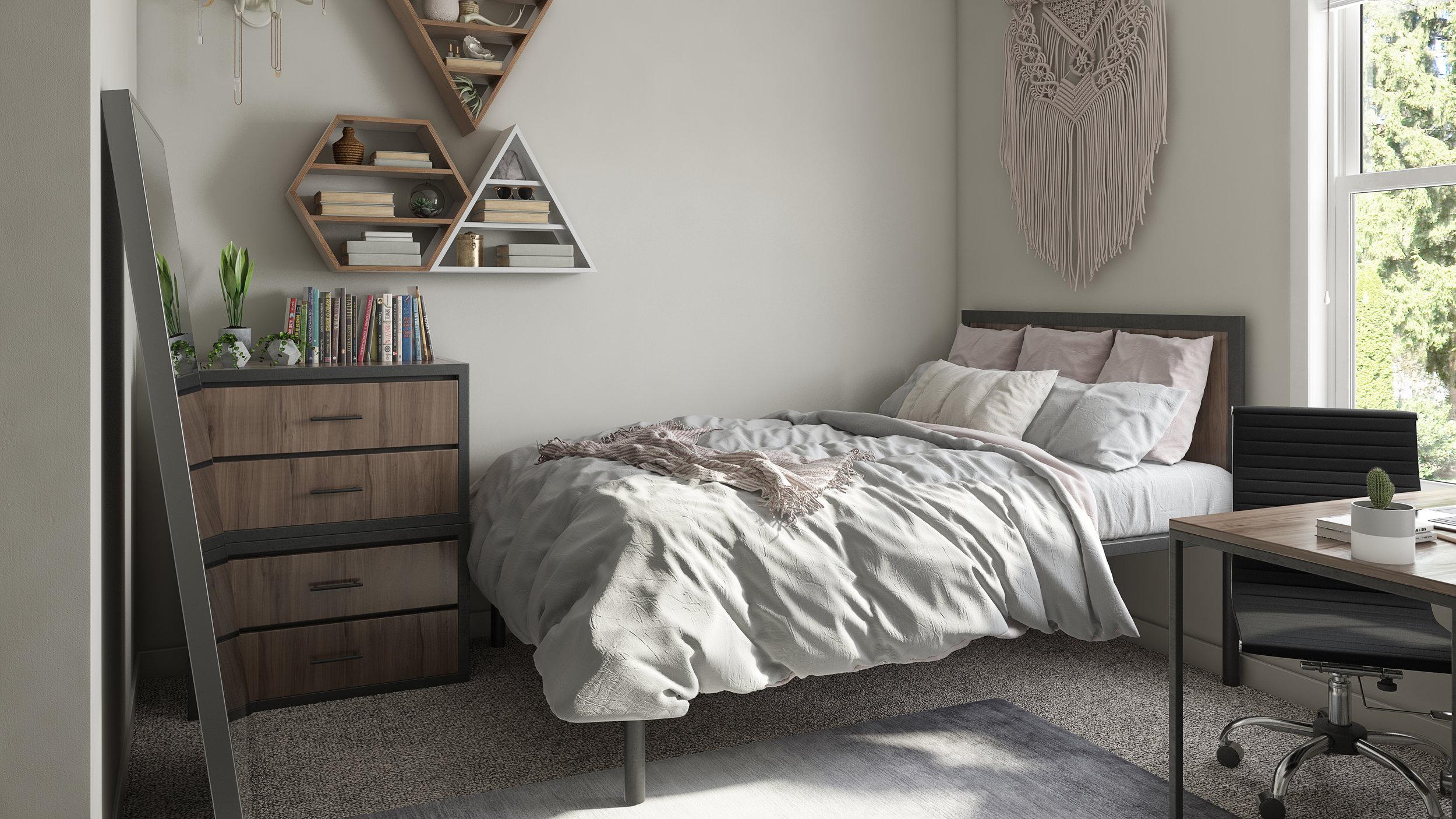 Liv+ Gainesville, Unit Bedroom