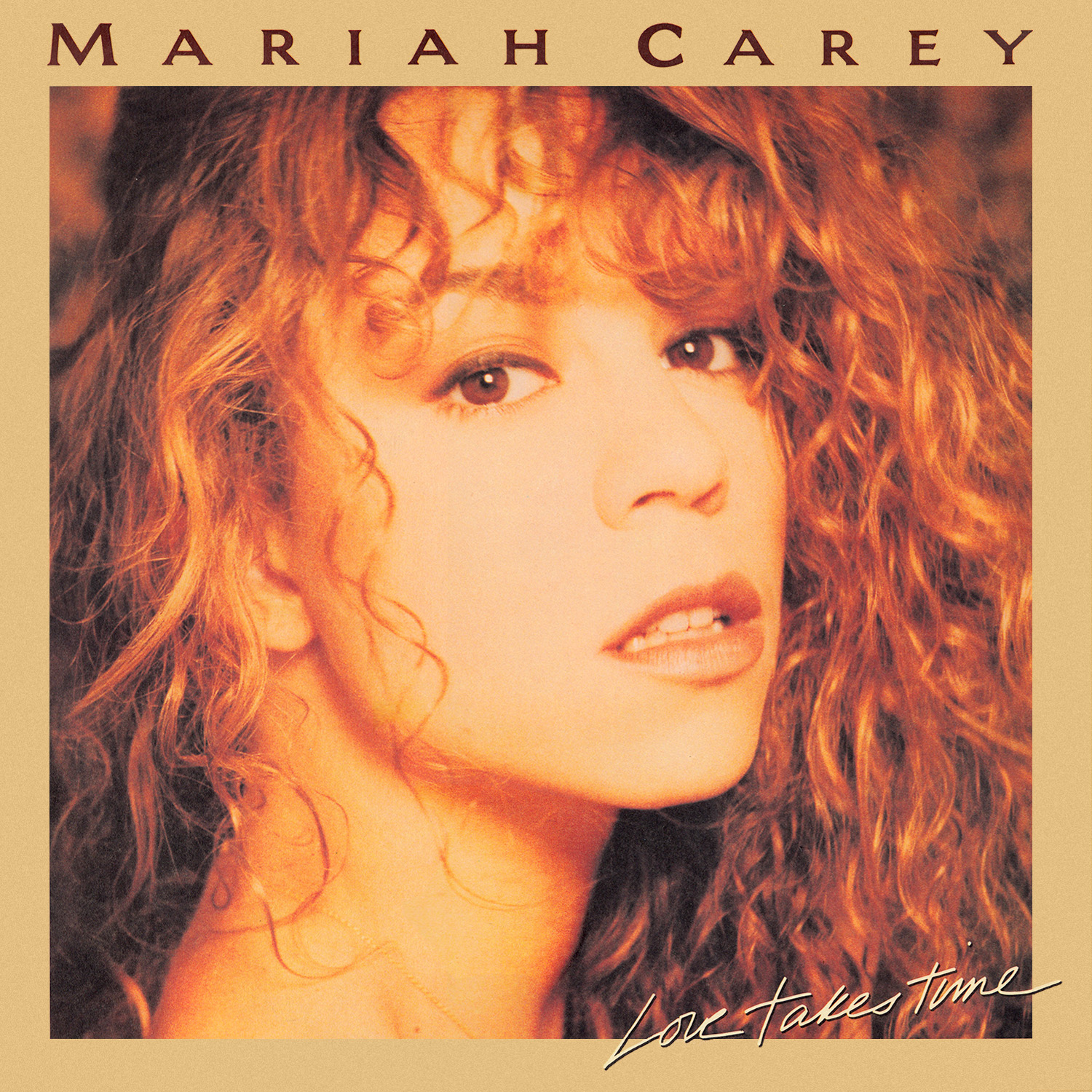 I sat down and wrote 'Love Takes Time' in about an hour - - Mariah Carey