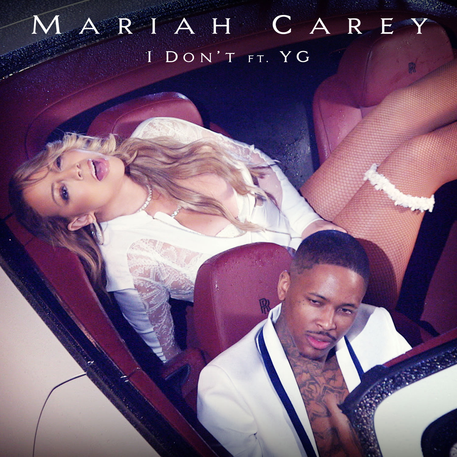[YG] came up with the 'I know you love me' part and I loved that [singing] section - - Mariah Carey