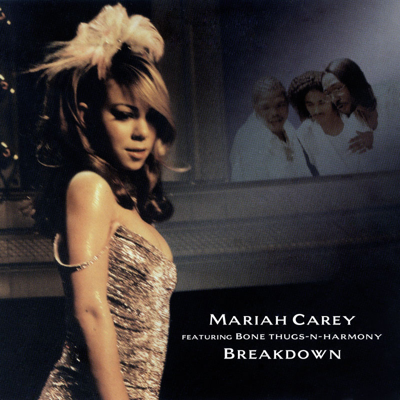 We got Stevie J to lay down the track and I wrote the melody over it - - Mariah Carey