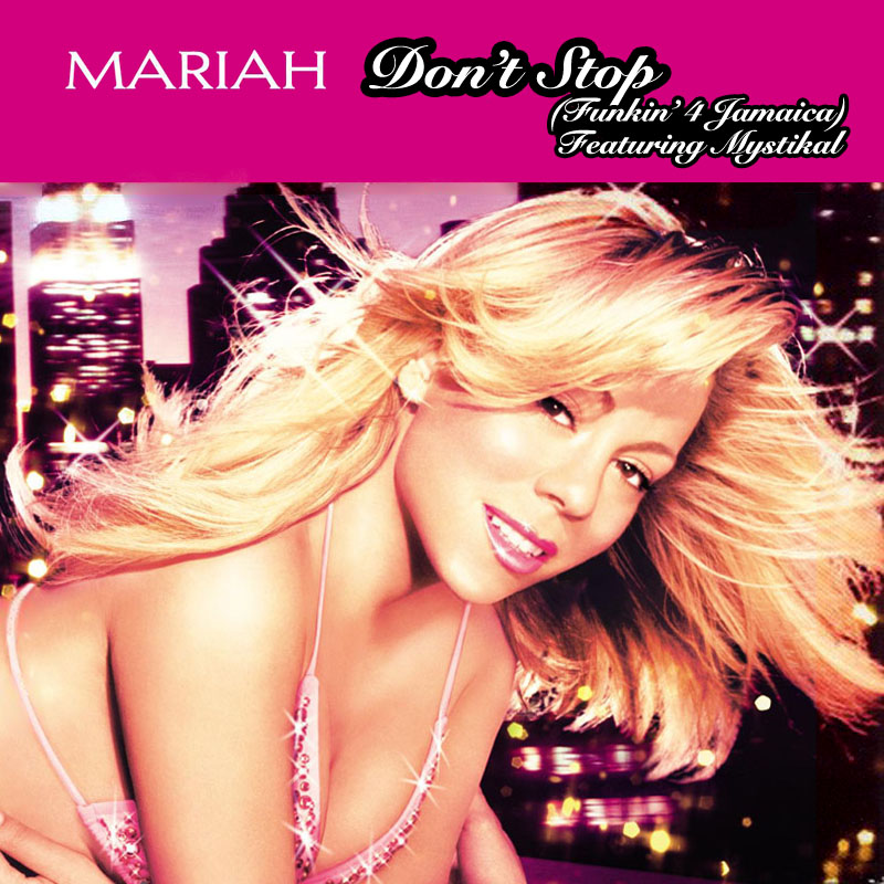 Oh, man, this song from the '80s — I loved it growing up - - Mariah Carey