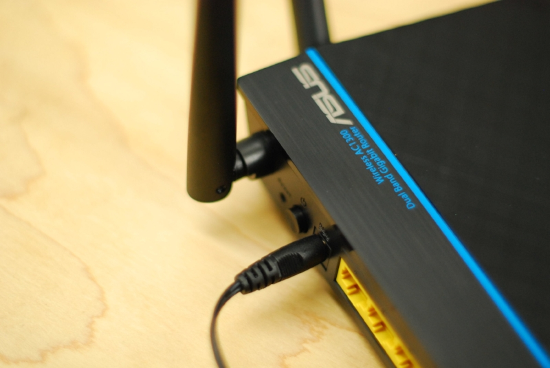 Connecting modem and router