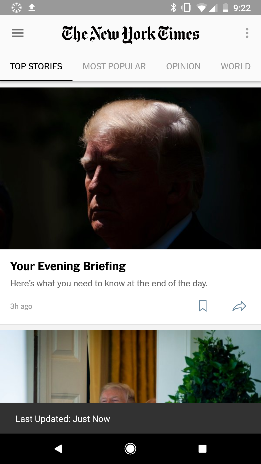 Nice to see daily brief