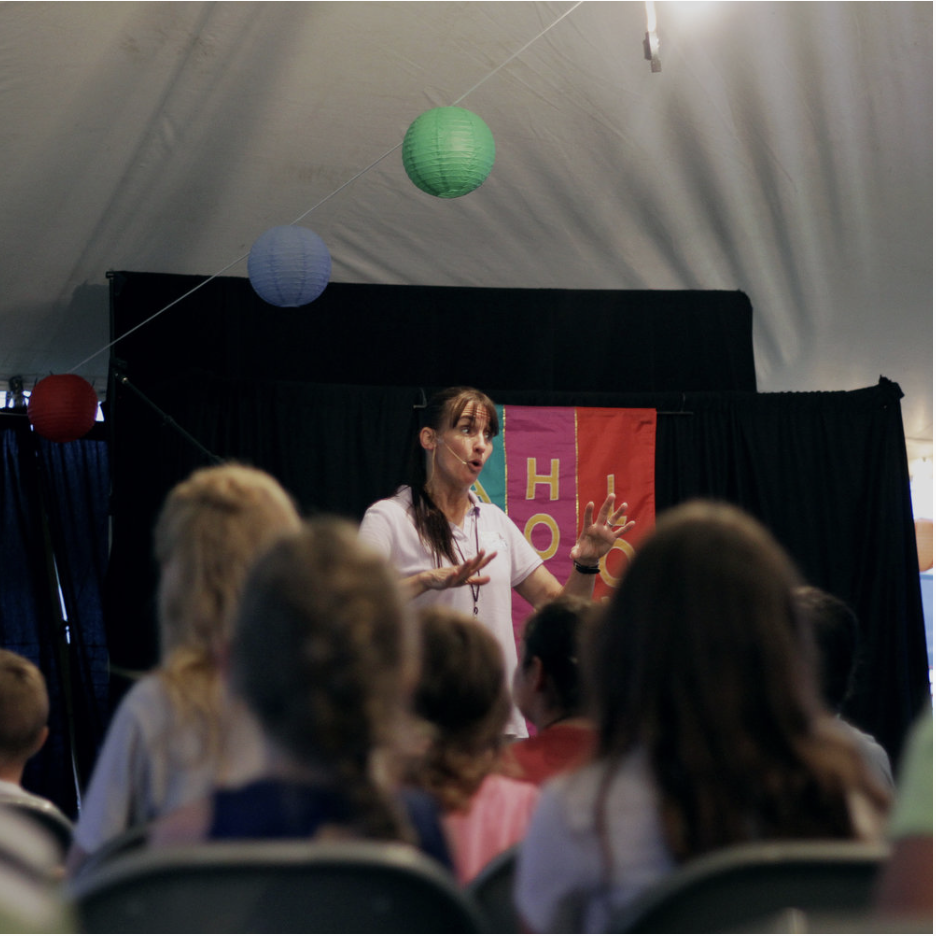 Kathy Hewitt - Kathy Hewitt is our children's tent leader for Revival on the Hill 2019! Kathy currently serves as the children's director at Grandpoint Church. She also travels throughout the year ministering at several children's camps. Kathy is fun, energetic, and her passion for leading children to Christ is fully evident!