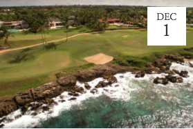 Three championship courses, including the Teeth of the Dog - Casa de Campo, Dominican Republic