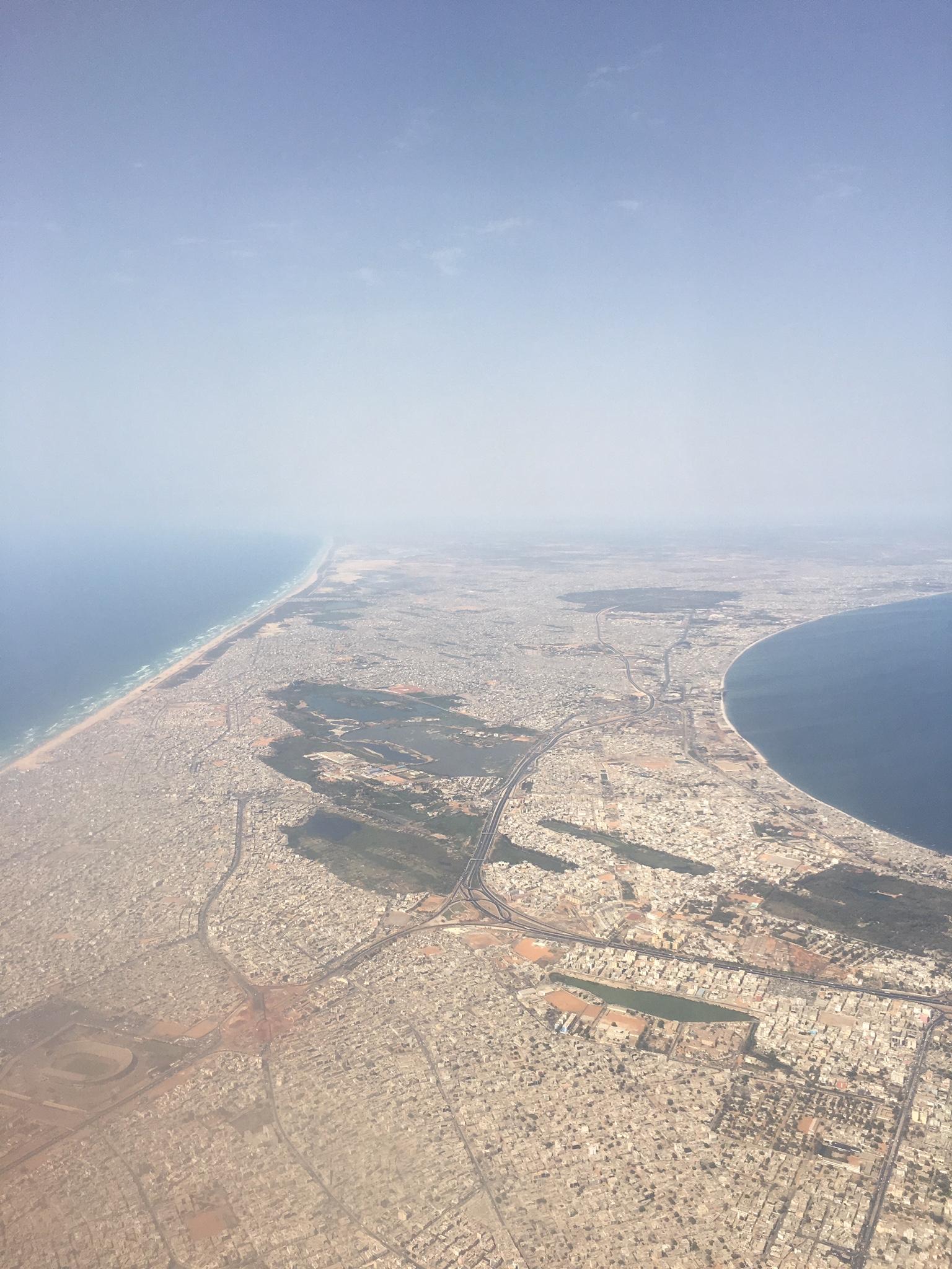 The Dakar peninsula.