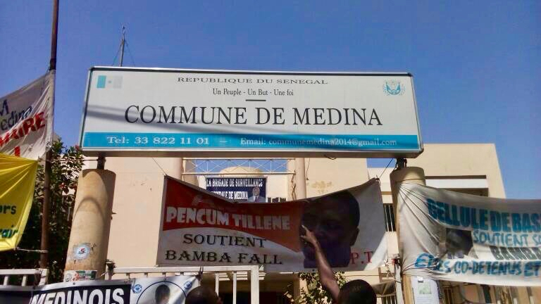 The commune of Médina in Dakar, a project partner.